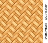 Bamboo Basket Pattern Texture...