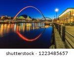 newcastle quayside  england | Shutterstock . vector #1223485657
