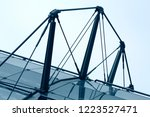 close up of modern architecture ... | Shutterstock . vector #1223527471