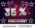 35  off discount promotion sale ...   Shutterstock .eps vector #1223538811