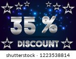 35  off discount promotion sale ...   Shutterstock .eps vector #1223538814