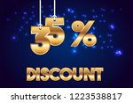 35  off discount promotion sale ...   Shutterstock .eps vector #1223538817
