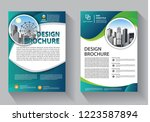 brochure template layout  cover ... | Shutterstock .eps vector #1223587894