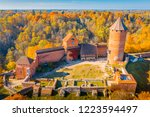 amazing aerial view over the... | Shutterstock . vector #1223594497