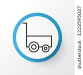 carry wagon icon symbol.... | Shutterstock .eps vector #1223595037