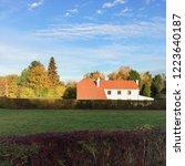 belgian farmhouse. a... | Shutterstock . vector #1223640187