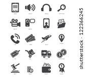 icons | Shutterstock .eps vector #122366245