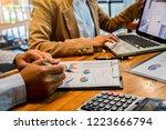 administrator business man... | Shutterstock . vector #1223666794