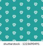 floral vector ornament....   Shutterstock .eps vector #1223690491