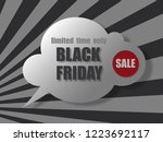 black friday sale banner....   Shutterstock .eps vector #1223692117