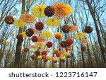 Colorful Umbrellas And...