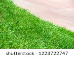 urban photography  a lawn is an ... | Shutterstock . vector #1223722747