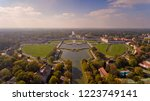 aerial view of the palace and... | Shutterstock . vector #1223749141