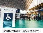 london  england 18 october 2018 ... | Shutterstock . vector #1223755894