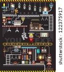 robot engineering  robot...   Shutterstock .eps vector #122375917