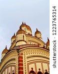 image of the distinctive vimana ... | Shutterstock . vector #1223765314