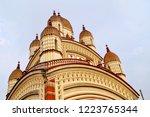 image of the distinctive vimana ... | Shutterstock . vector #1223765344