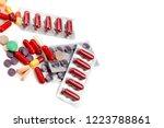 assorted pharmaceutical... | Shutterstock . vector #1223788861