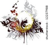 floral banner   Shutterstock .eps vector #12237988
