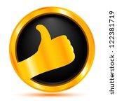 best choice. gold badge | Shutterstock .eps vector #122381719