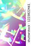 iridescent background.... | Shutterstock .eps vector #1223822461