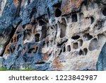 pre inca necropolis with... | Shutterstock . vector #1223842987