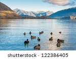 Lake Wanaka And Mt Aspiring In...