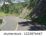 rural road to descend the...   Shutterstock . vector #1223876467