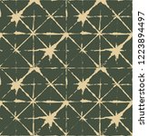 japanese kimono vector seamless ... | Shutterstock .eps vector #1223894497