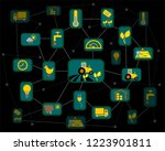 internet of things  iot  ... | Shutterstock .eps vector #1223901811