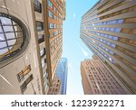 toronto. canada. unusual... | Shutterstock .eps vector #1223922271