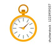pocket watch flat icon. you can ... | Shutterstock .eps vector #1223959357