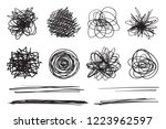 backgrounds with array of lines.... | Shutterstock .eps vector #1223962597