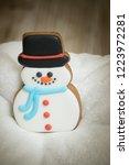 gingerbread for christmas  ... | Shutterstock . vector #1223972281