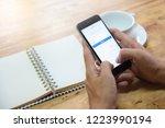 chiang mai  thailand   nov 08... | Shutterstock . vector #1223990194