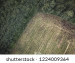 aerial drone photo of the...   Shutterstock . vector #1224009364