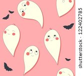 cute ghost | Shutterstock .eps vector #122402785