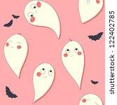 cute ghost | Shutterstock .eps vector #122402785