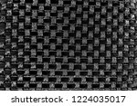 abstract background. monochrome ... | Shutterstock . vector #1224035017