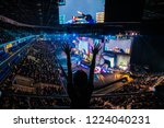 moscow  russia   october 27... | Shutterstock . vector #1224040231