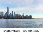 a view of lower manhattan and... | Shutterstock . vector #1224058837