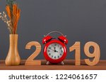 new year concepts countdown...   Shutterstock . vector #1224061657