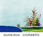 it is a background drawing a... | Shutterstock . vector #1224068551