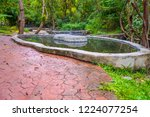 image of water pond at pong nam ... | Shutterstock . vector #1224077254