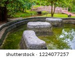 image of water pond at pong nam ... | Shutterstock . vector #1224077257