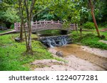 image of water stream at pong... | Shutterstock . vector #1224077281