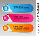modern paper text box template  ...   Shutterstock .eps vector #1224078484