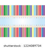 color pencils background | Shutterstock .eps vector #1224089734