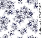 abstract elegance seamless... | Shutterstock . vector #1224095467