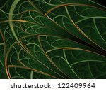 Forest Themed Leafy Pattern ...